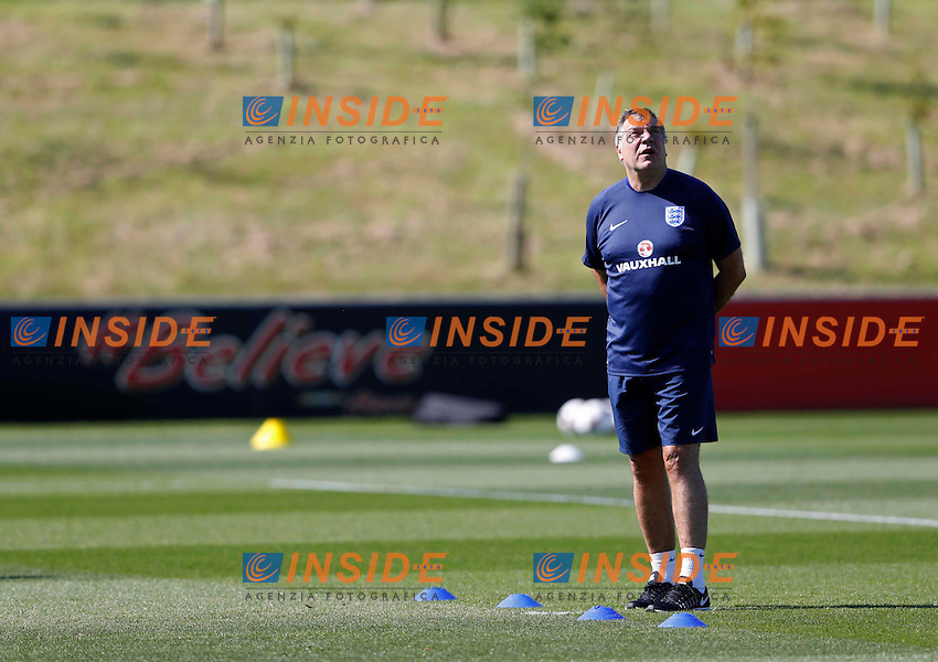 Britain Football Soccer - England Training - St. George&iacute;s Park - 30/8/16<br /> England manager Sam Allardyce during training<br /> Foto Panoramic / Insidefoto <br /> ITALY ONLY