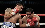 Julio  Diaz gano por ko en el asalto 8 a pavel miranda