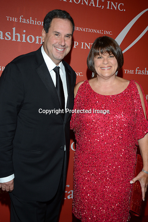Stephen and Karin Sadove attend the Fashion Group International's Night of Stars Gala on October 22, 2013 at Cipriani Wall Street in New York City.