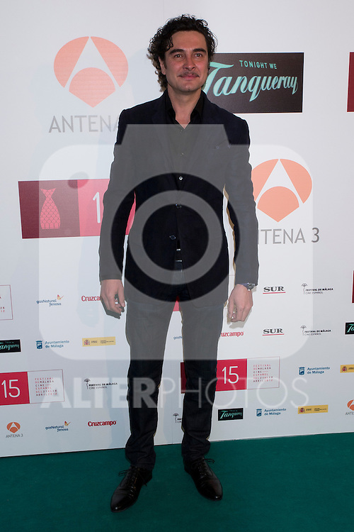 11.04.2012. Presentation of 15 Spanish Film Festival of Malaga in the Real Fabrica de Tapices of Madrid. It was attended by the Official Selection films, Zonazine, Short, Jury, presenters, winners and guests. In the image Jose Manuel Seda  (Alterphotos/Marta Gonzalez)