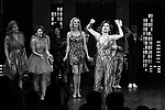 "Beth Leavel and cast during the Broadway Opening Night Curtain Call of ""The Prom"" at The Longacre Theatre on November 15, 2018 in New York City."