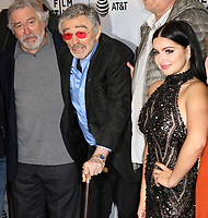 www.acepixs.com<br /> <br /> April 22 2017, New York City<br /> <br /> (L-R) Actors Robert De Niro, Burt Reynolds and Ariel Winter arriving at a screening of 'Dog Years' during the 2017 Tribeca Film Festival the at Cinepolis Chelsea on April 22, 2017 in New York City.<br /> <br /> By Line: Nancy Rivera/ACE Pictures<br /> <br /> <br /> ACE Pictures Inc<br /> Tel: 6467670430<br /> Email: info@acepixs.com<br /> www.acepixs.com