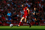 Liverpool's Jordan Henderson in action during the premier league match at Anfield Stadium, Liverpool. Picture date 27th August 2017. Picture credit should read: Paul Thomas/Sportimage