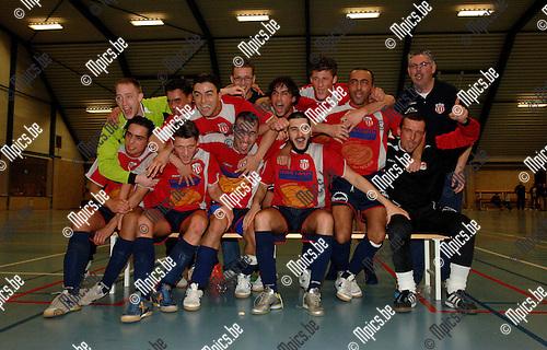 MSC Anwterpen kampioen in 3A futsal.