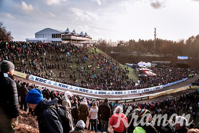 the infamous 'Pit' <br /> <br /> CX Superprestige Zonhoven (BEL) 2019<br /> Elite & U23 mens race