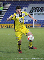 John McGinn in the Ross County v St Mirren Scottish Professional Football League match played at the Global Energy Stadium, Dingwall on 17.1.15.