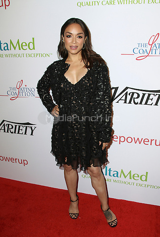 BEVERLY HILLS, CA - MAY 12: Mayte Garcia attends the AltaMed Power Up, We Are The Future Gala at the Beverly Wilshire Four Seasons Hotel on May 12, 2016 in Beverly Hills, California. Credit: Parisa/MediaPunch.