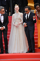CANNES, FRANCE. May 25, 2019: Pawel Pawlikowski, Elle Fanning & Alejandro Gonzalez Inarritu at the Closing Gala premiere of the 72nd Festival de Cannes.<br /> Picture: Paul Smith / Featureflash
