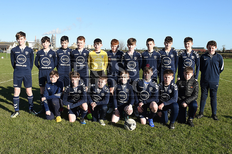 Ardee Celtic U-14. Photo:Colin Bell/pressphotos.ie