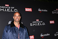 "LOS ANGELES - FEB 24:  Brian Patrick Wade at ""Marvel's Agents Of S.H.I.E.L.D."" 100th Episode Party at Ohm Nightclub on February 24, 2018 in Los Angeles, CA"