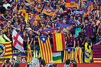 Supporters OF FC Barcelona during the match of  Copa del Rey (King's Cup) Final between Deportivo Alaves and FC Barcelona at Vicente Calderon Stadium in Madrid, May 27, 2017. Spain.. (ALTERPHOTOS/Rodrigo Jimenez) /NortePhoto.com