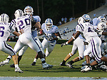 16 September 2006: North Carolina's Ronnie McGill (25) rushes to the Furman three yard line. The University of North Carolina Tarheels defeated the Furman University Paladins 45-42 at Kenan Stadium in Chapel Hill, North Carolina in an NCAA College Football game.