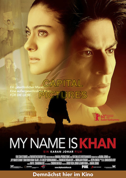GERMAN POSTER ART.in My Name Is Khan.*Filmstill - Editorial Use Only*.CAP/FB.Supplied by Capital Pictures.