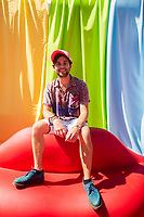 Jake Borelli on Day Three of LA Pride in West Hollywood, California on June 9, 2019. <br /> CAP/MPI/IS/CT<br /> ©CT/IS/MPI/Capital Pictures