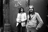 June 1977: YES - Photosession in Paris France