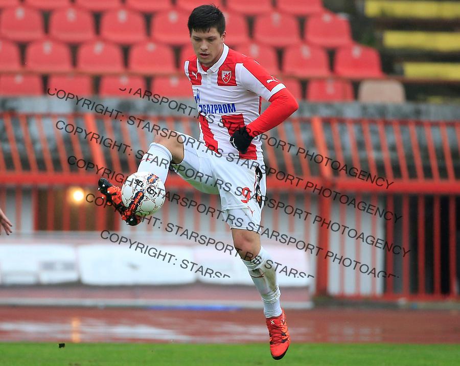 Fudbal Jelen Super League season 2015-2016<br /> Crvena Zvezda v Vozdovac<br /> Luka Jovic<br /> Beograd, 28.11.2015.<br /> foto: Srdjan Stevanovic/Starsportphoto&copy;