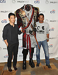 """John Cho The Headless Horseman and Orlando Jones at the 2014 PaleyFest """"Sleepy Hollow"""" arrivals held at The Dolby Theatre Los Angeles, Ca. March 19, 2014."""
