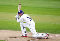 PICTURE BY VAUGHN RIDLEY/SWPIX.COM - Cricket - County Championship Div 2 - Yorkshire v Kent, Day 3 - Headingley, Leeds, England - 07/04/12 - Yorkshire's Andrew Gale hits out.