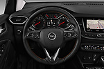 Car pictures of steering wheel view of a 2018 Opel Crossland X Innovation 5 Door SUV