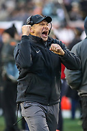 Philadelphia, PA - December 8, 2018:  Army Black Knights head coach Jeff Monken in action during the 119th game between Army vs Navy at Lincoln Financial Field in Philadelphia, PA. (Photo by Elliott Brown/Media Images International)