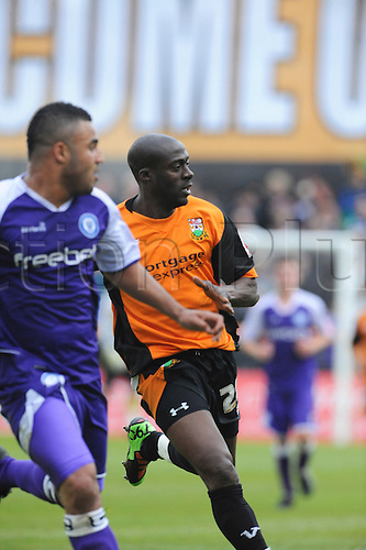 8.5.2010. Barnet Football Ground. Rochdale attack Barnets goal. Barnet   1 - 0   Rochdale. Albert Jarrett scored a last-gasp winner for Barnet as the Bees secured their Football League survival.