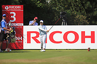 Moriya Jutanugarn (THA) on the 3rd tee during Round 4 of the Ricoh Women's British Open at Royal Lytham &amp; St. Annes on Sunday 5th August 2018.<br /> Picture:  Thos Caffrey / Golffile<br /> <br /> All photo usage must carry mandatory copyright credit (&copy; Golffile | Thos Caffrey)