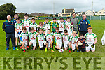 The John Mitchels team who took part in the Lee Strand U13 Invitational Tournament at Connolly Park on Saturday.