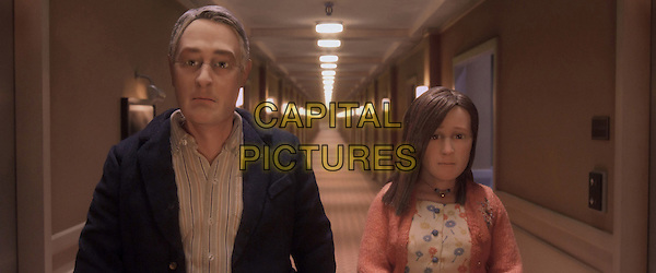 Anomalisa (2015)  <br /> Michael Stone (voice of David Thewlis), Lisa (voice of Jennifer Jason Leigh)<br /> *Filmstill - Editorial Use Only*<br /> CAP/KFS<br /> Image supplied by Capital Pictures