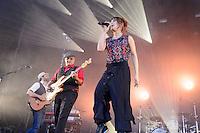 Die französische Nouvelle-Chanson Sängerin ZAZ auf dem Raffteich Open Air im Raffteichbad Braunschweig am 19.July 2014. Foto: Rüdiger Knuth