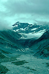 AK: Alaska Denali National Park, Glacial Valley  .Photo Copyright: Lee Foster, lee@fostertravel.com, www.fostertravel.com, (510) 549-2202.Image: akdena216