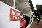 Members of the backroom staff taking their places in the home dugout at the City Ground, Nottingham as Nottingham Forest take on visitors Ipswich Town in an Npower Championship match. Forest won the match by two goals to nil in front of 22,935 spectators.