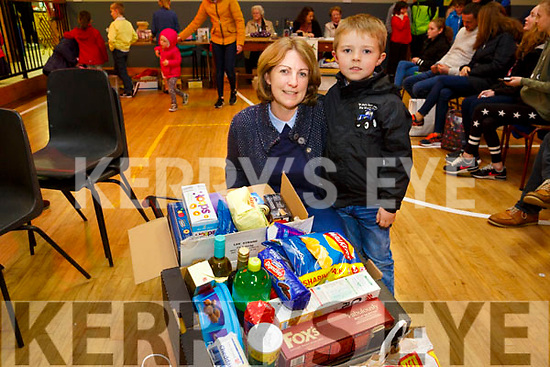 Enjoying the Ballymac St. Brendan's Community Centre Parish Bazaar on Sunday were Heather and Jake Sugrue
