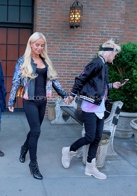 www.acepixs.com<br /> <br /> May 3 2017, New York City<br /> <br /> Transgender model Gigi Gorgeous out with a friend in the East Village on May 3 2017 in New York City<br /> <br /> By Line: Curtis Means/ACE Pictures<br /> <br /> <br /> ACE Pictures Inc<br /> Tel: 6467670430<br /> Email: info@acepixs.com<br /> www.acepixs.com