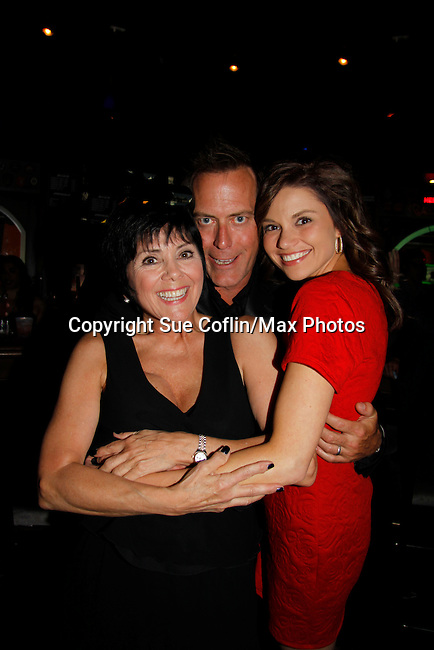 """Actress Joyce DeWitt (Threes Company)poses with Robert and MandyThe film """"Price for Freedom"""" worldwide premiere starring Mandy Bruno and Robert Bogue (GL) shown on this night  - 10th Anniversary of the Hoboken International Film Festival on May 29, 2015 at the Paramount Theatre, Middletown, NY - runs through June 4. (Photos by Sue Coflin/Max Photos)"""