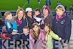 Dromid fans pictured at the match in Portlaoise on Sunday, from left: Daithí O'Shea, Philomena O'Shea, Siobhan O'Shea, Darragh O'Shea, Cormac O'Sullivan, Muireann O'Connell, Helen O'Sullivan, Lorna O'Shea and Bridie O'Shea (all from Dromid).