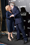 Madrid Mayor Manuela Carmena and culture minister Iñigo Mendez de Vigo attends to the photocall of the ceremony of the Vallen Inclan award at Teatro Real in Madrid, Spain. March 27, 2017. (ALTERPHOTOS/BorjaB.Hojas)