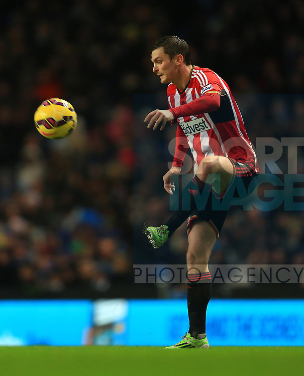 Adam Johnson of Sunderland - Manchester City vs. Sunderland - Barclay's Premier League - Etihad Stadium - Manchester - 28/12/2014 Pic Philip Oldham/Sportimage
