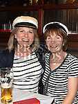 Maura McGrath and Brid Maguire pictured at the Nautical night in aid of the Gary Kelly Cancer Support Centre in Watters of Collon.