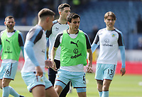 Burnley's Jack Cork during the pre-match warm-up <br /> <br /> Photographer Rich Linley/CameraSport<br /> <br /> The Premier League - Burnley v Leicester City - Saturday 14th April 2018 - Turf Moor - Burnley<br /> <br /> World Copyright &copy; 2018 CameraSport. All rights reserved. 43 Linden Ave. Countesthorpe. Leicester. England. LE8 5PG - Tel: +44 (0) 116 277 4147 - admin@camerasport.com - www.camerasport.com