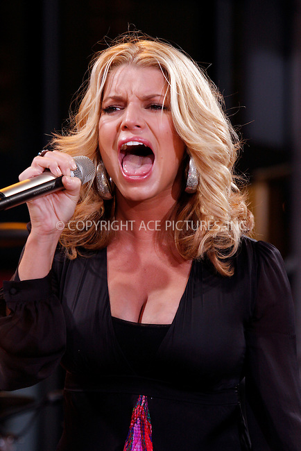WWW.ACEPIXS.COM . . . . . ....September 9 2008, New York City....Actress and singer Jessica Simpson performed live on ABC's 'Good Morning America' show in Times Square on September 9 2008 in New York City ....Please byline: AJ Sokalner - ACEPIXS.COM.... *** ***..Ace Pictures, Inc:  ..(212) 243-8787 or (646) 769 0430..e-mail: picturedesk@acepixs.com..web: http://www.acepixs.com