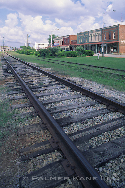 Traintracks in Plains Georgia