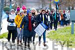 INMO Nurses on strike at University Hospital Kerry on Wednesday morning.