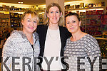 Nora Power, Catherine Costello and Shpresa Muharremy, pictured at Ch Chemist, Tralee, beauty evening on Friday night.
