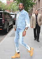 NEW YORK, NY - JUNE 13: Rapper Meek Mill at 'The View'  where he talked about prison reform  in New York, New York on June 13, 2018.  Photo Credit: Rainmaker Photo/MediaPunch