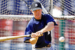 13 March 2007: Detroit Tigers infielder Kevin Hooper takes batting practice prior to facing the Los Angeles Dodgers in a spring training game at Holman Stadium in Vero Beach, Florida.<br /> <br /> Mandatory Photo Credit: Ed Wolfstein Photo