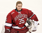 Molly Tissenbaum (Harvard - 35) - The Boston College Eagles defeated the visiting Harvard University Crimson 3-1 in their NCAA quarterfinal matchup on Saturday, March 16, 2013, at Kelley Rink in Conte Forum in Chestnut Hill, Massachusetts.