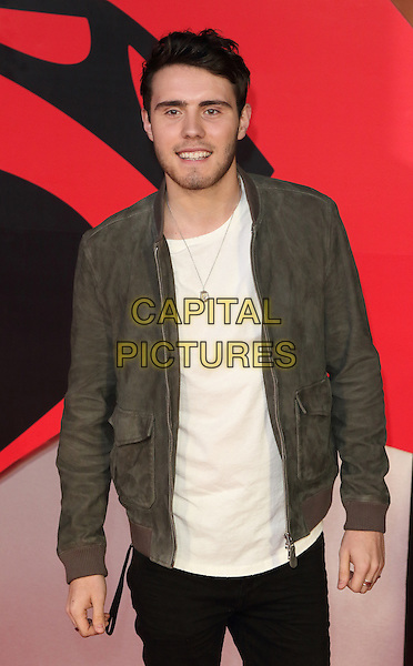 LONDON, ENGLAND - Alfie Deyes at the European Premiere of Batman v Superman - the Dawn of Justice, Odeon Leicester Square, London on March 22nd 2016<br /> CAP/ROS<br /> &copy;Steve Ross/Capital Pictures