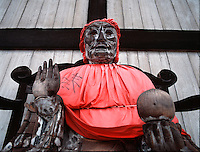 Deity, Daibutsuden temple (The Hall of the Great Buddha), Nara, Japa
