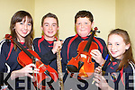 Emer Moore, Darragh McGillicuddy, Darren Griffin and Isobel Moore Glenbeigh who competed at the Mid Kerry Scor finals in the Glenbeigh GAA hall on Friday night    Copyright Kerry's Eye 2008