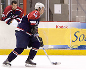 Chris Butler (University of Denver - Buffalo Sabres)  The US Blue team lost to Sweden 3-2 in a shootout as part of the 2005 Summer Hockey Challenge at the National Junior (U-20) Evaluation Camp in the 1980 rink at Lake Placid, NY on Saturday, August 13, 2005.